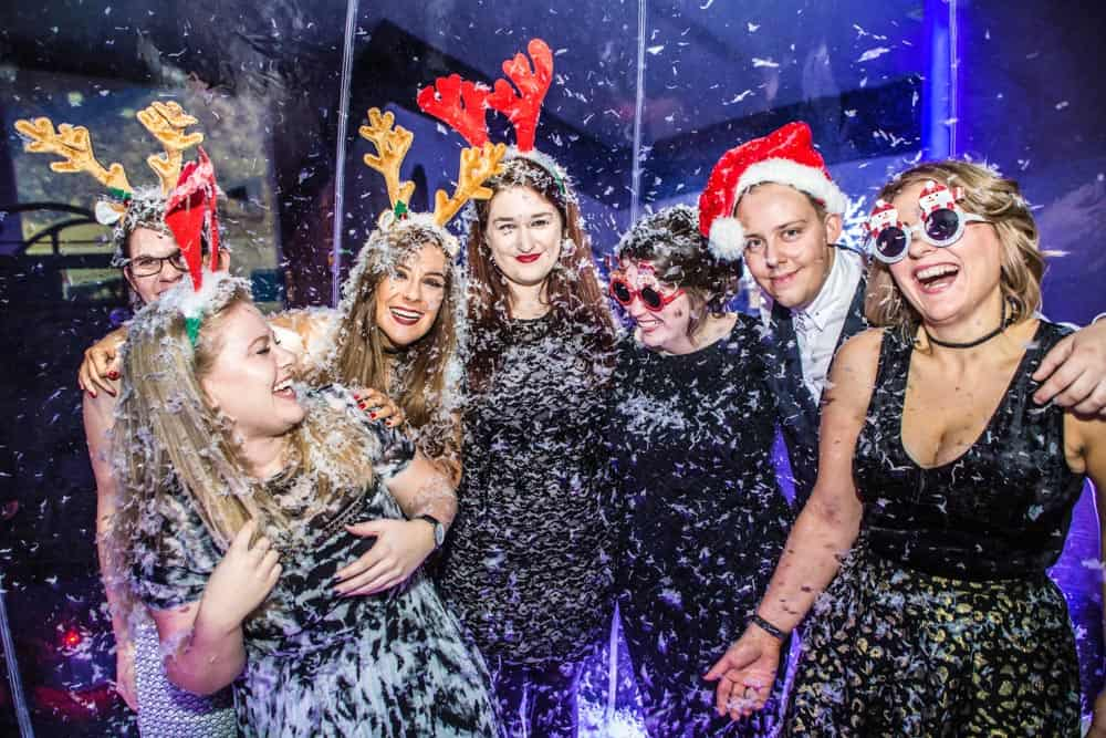 Event Photographers Manchester christmas event at media city
