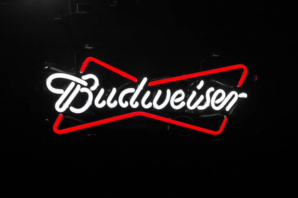 PR and Branding Photograph of Budwiser for ER Event Photography who are branding photographers based in Manchester
