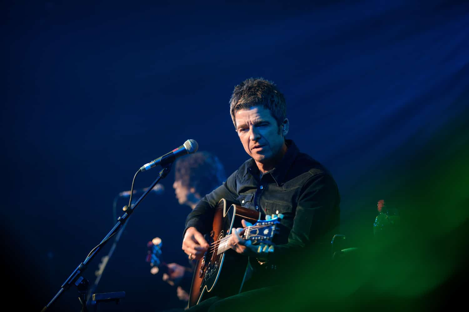 noel gallagher and his Celebrity Event Photographer Manchester