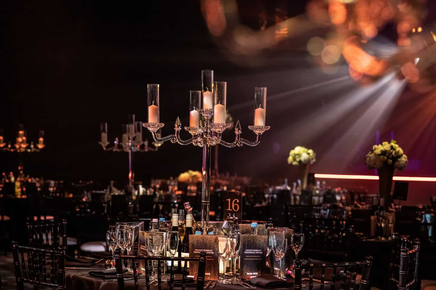 Venue dressing at the hilton manchester for your next celebrity event