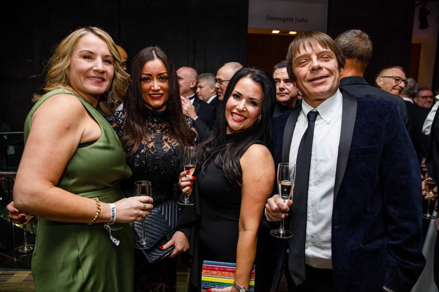 celebrity event at the hilton manchester