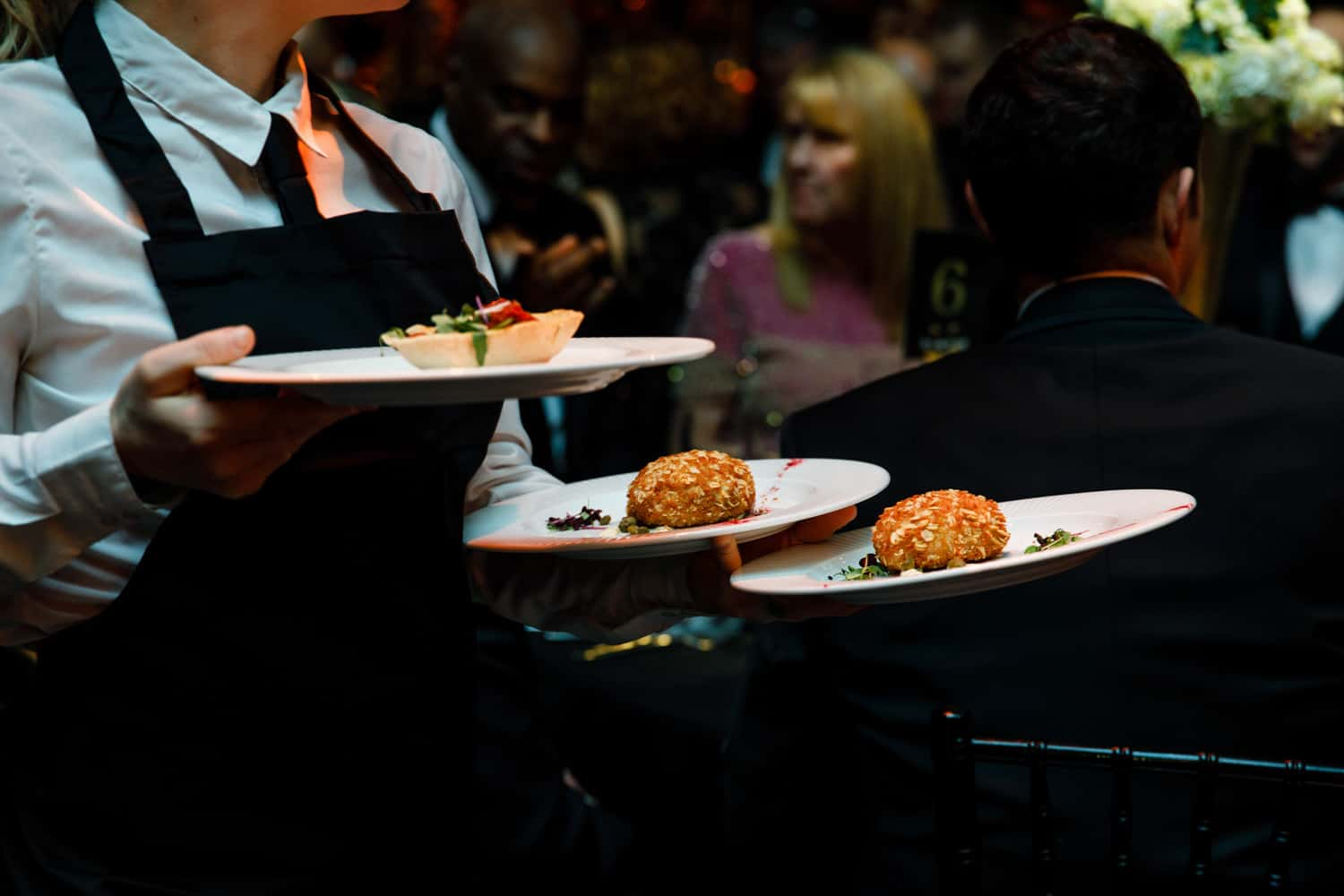 food at the hilton manchester for your next event