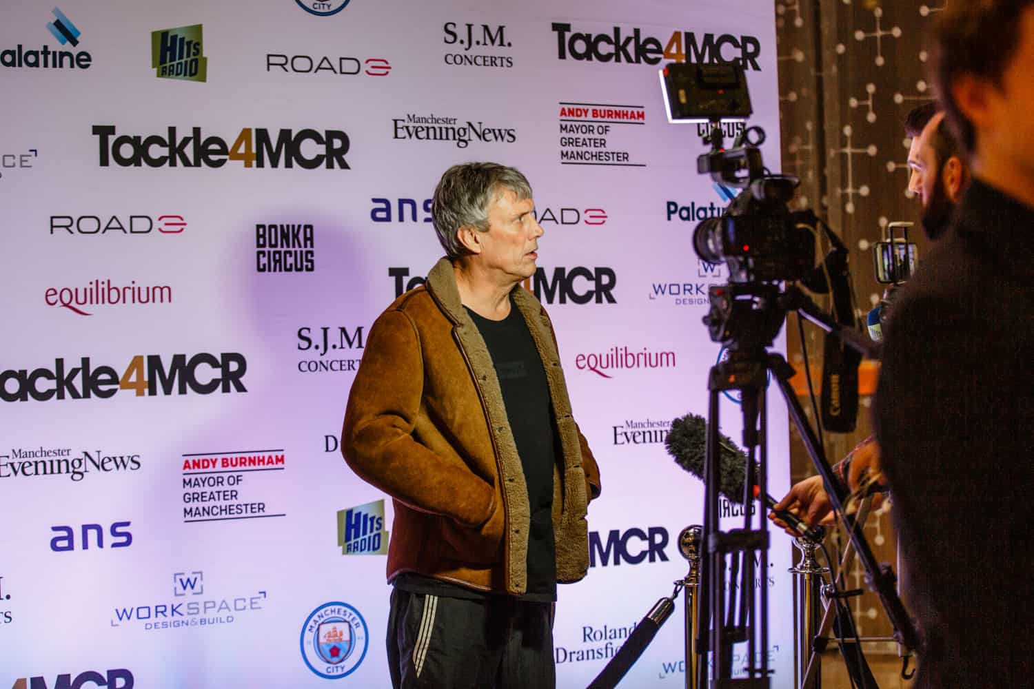 step and repeat for the hilton manchester