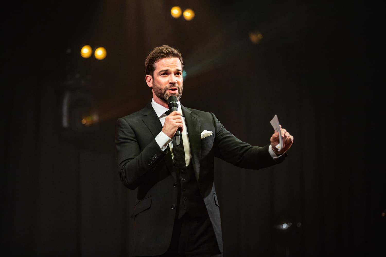 celebrity speaker at manchester event