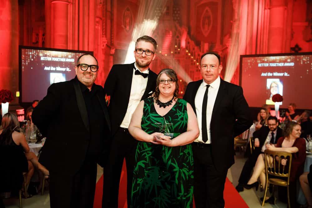 justin moorhouse presenter of award ceremonies in manchester