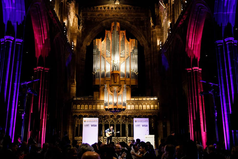 Event at Manchester Cathedral