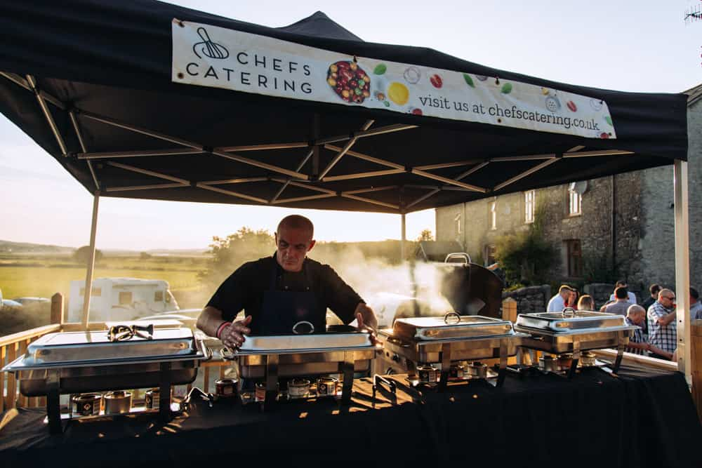 catering at park house barn