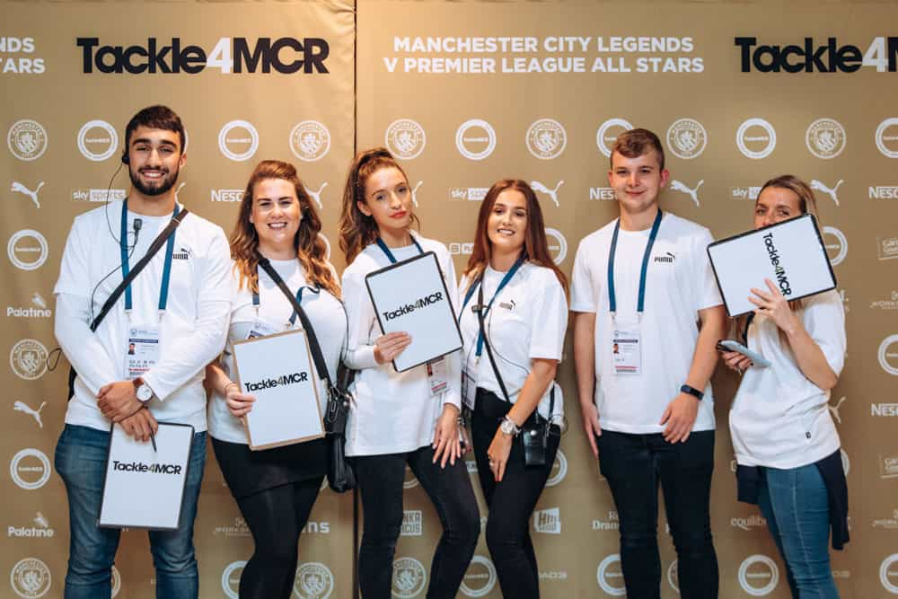 Tackle 4MCR event at MCFC