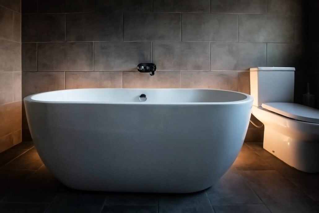 Interior Property Photography Manchester Bath and Bathroom image
