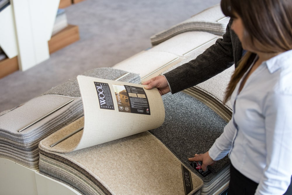 Commercial Photographer Manchester photo of cromer carpets