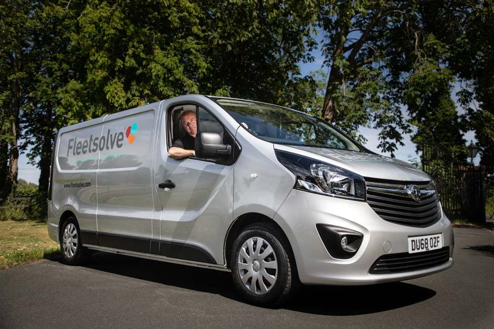 Commercial Photographer Manchester photo of company van