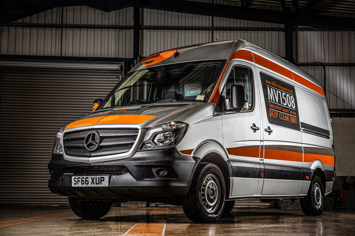 Commercial Photographer Manchester photo of company vehicle