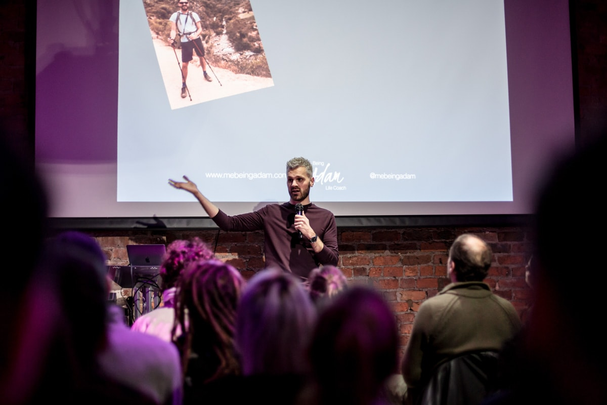 me being adam conference talk manchester