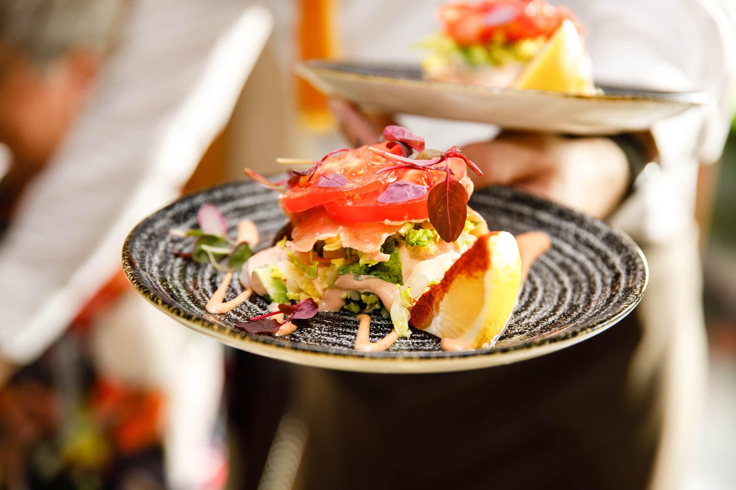 stunning summer dish photo taken by food photographer