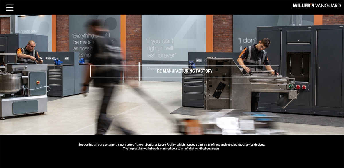 Commercial photography project for commercial and industrial client