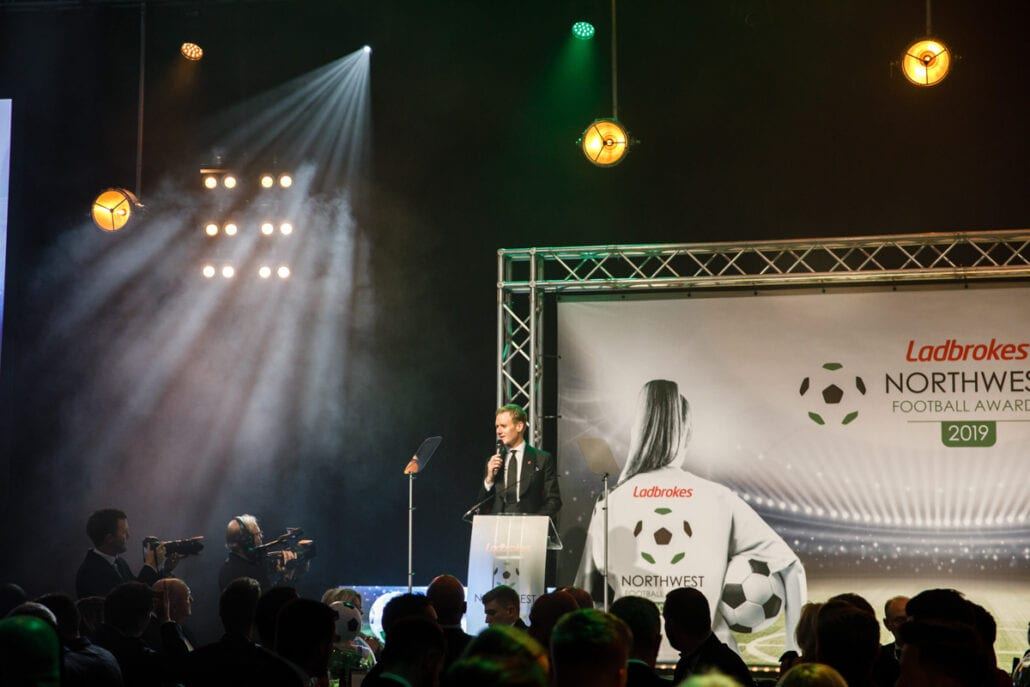 National Football Awards at the Lancashire Country Cricket Club