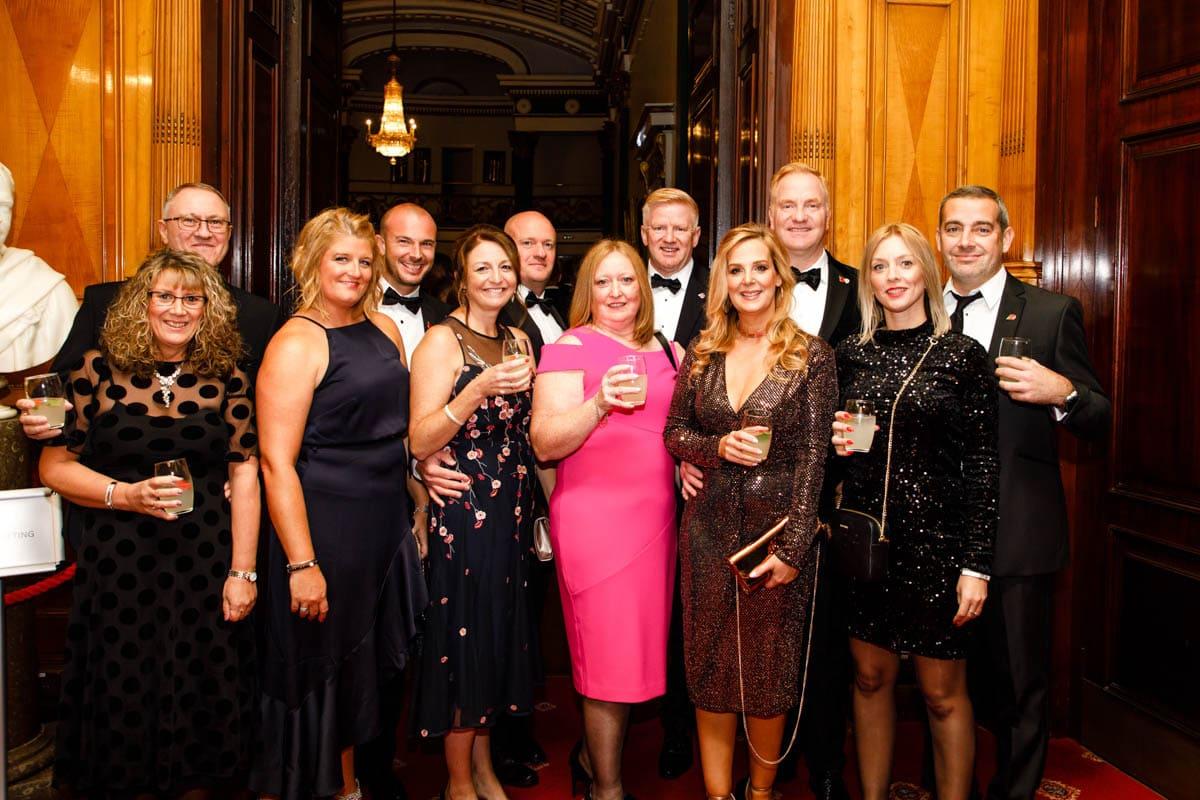 James Sunshine Ball Sheffield Charity Dinner 2019